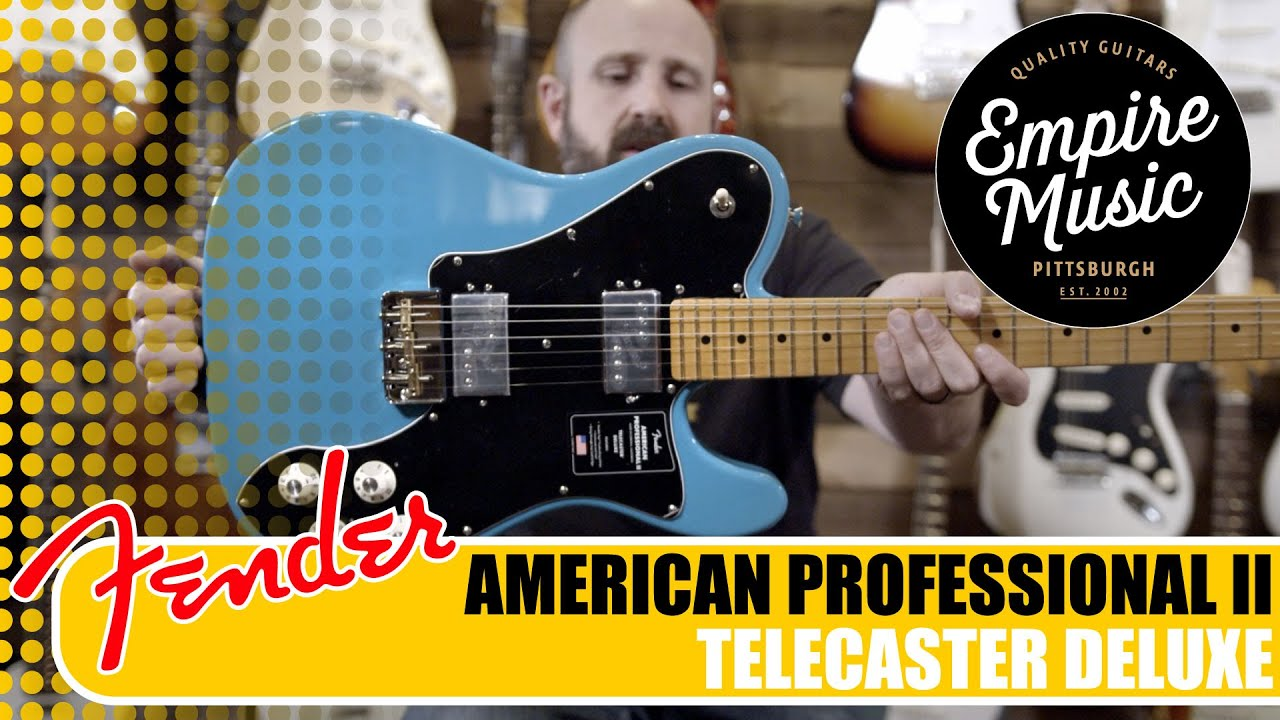 fender american professional ii telecaster deluxe empire music