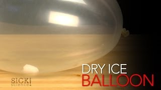 Dry Ice Balloon - Sick Science! #162