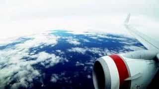 Virgin Australia Time-lapse Flight - Brisbane to Sydney.