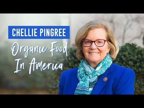 Congresswoman Chellie Pingree Discusses Organic Food In America