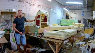 видео Ремонт кресла на дому в Москве и области