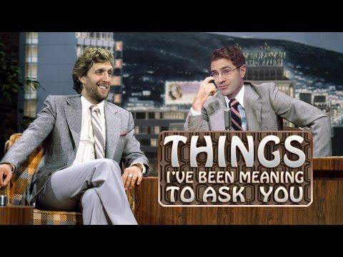Dirk Nowitzki on Ellen, Leftovers and Competing in Dunk Contest