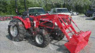 mahindra 4035 4x4 tractor