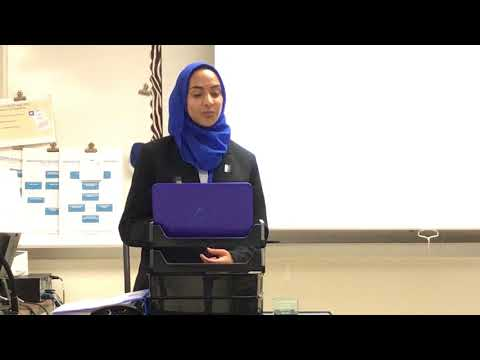 Iman Ahmed - ISM Final Presentation, May 18, 2018
