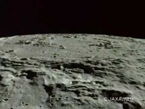 Schrodinger Crater area on the Moon / Kaguya《かぐやHD》