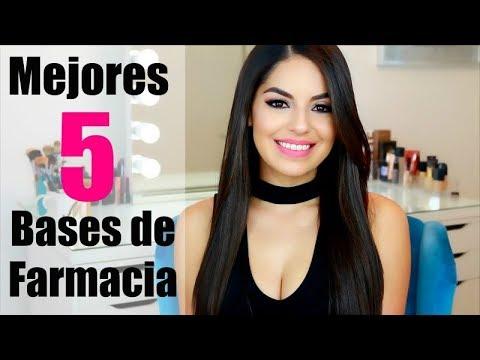 mejores bases de maquillaje de farmacia mexico