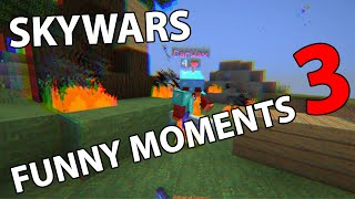 Skywars Funny Moments #3 - Hypixel Skywars - Minecraft // defib
