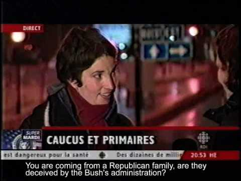 Ron Paul - American supporter interview Canada