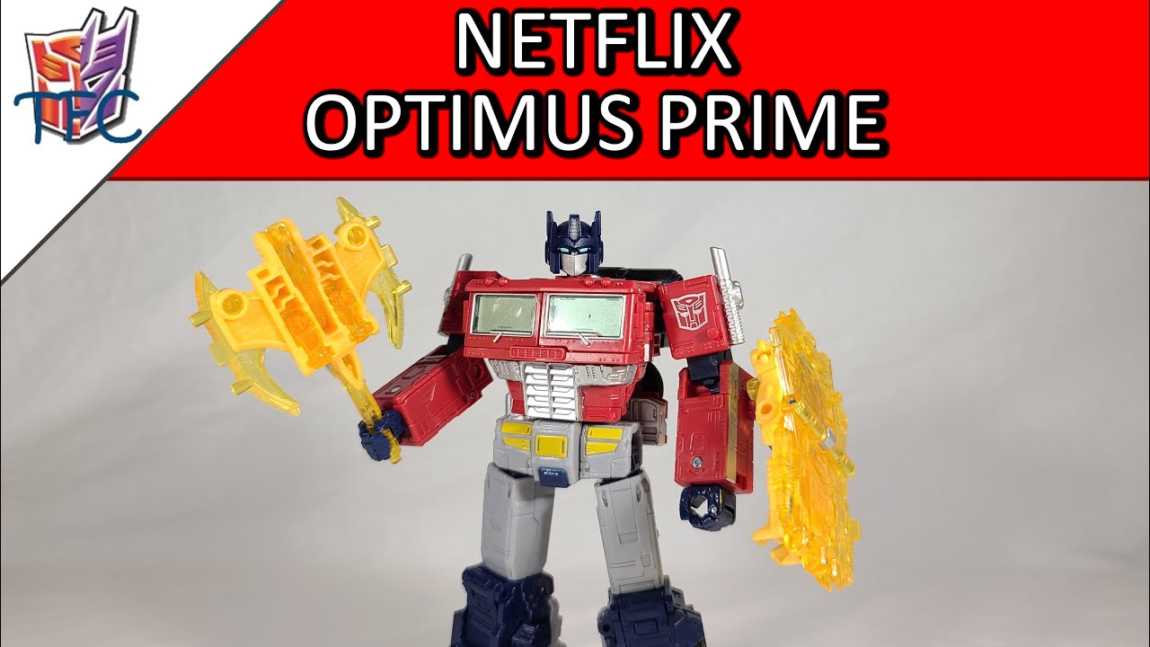 TF Collector Netflix WFC Optimus Prime Review!