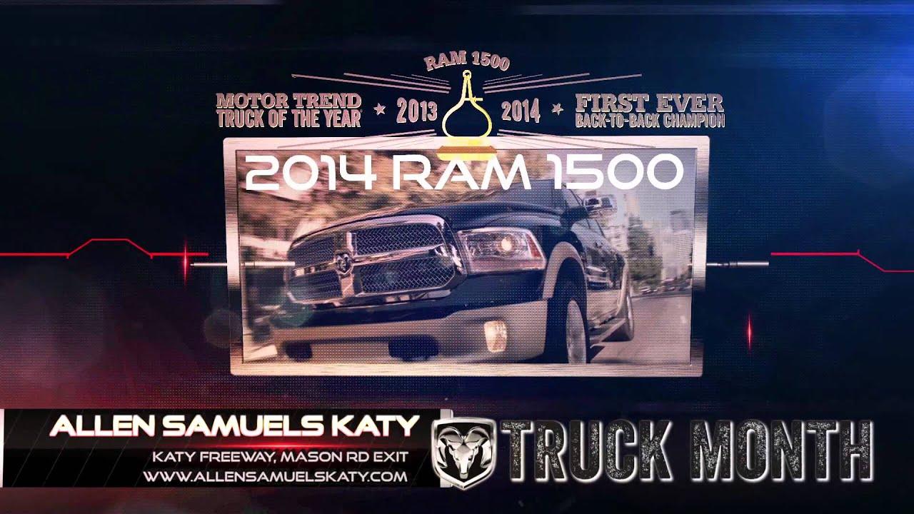 Allen Samuels Dodge Chrysler Jeep Ram Katy Ram Fall Truck Month
