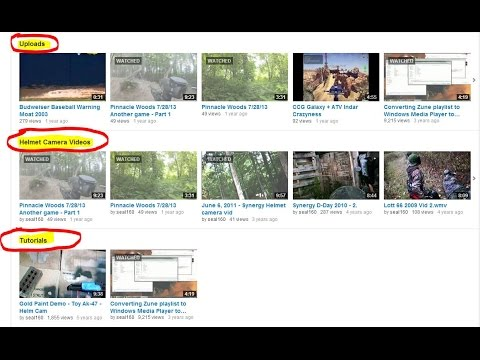 How to Create a Youtube Subchannel, Subsection, Tag, Playlist