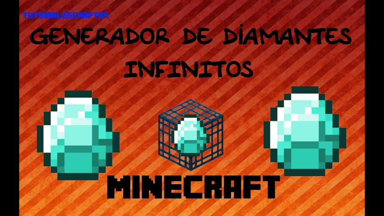 Generador De Diamantes Infinito Minecraft 1 8 1 7