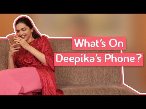 What's On Deepika Padukone's Phone | MissMalini