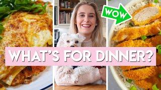 WHAT'S FOR DINNER?   4 WEEKNIGHT MEAL IDEAS   Low FODMAP + Gluten free