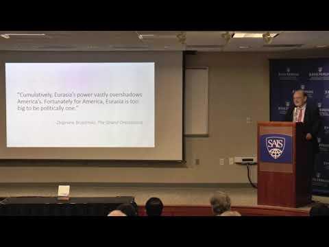 Vice Dean Kent Calder Book Launch - Super Continent: The Logic of Eurasian Integration