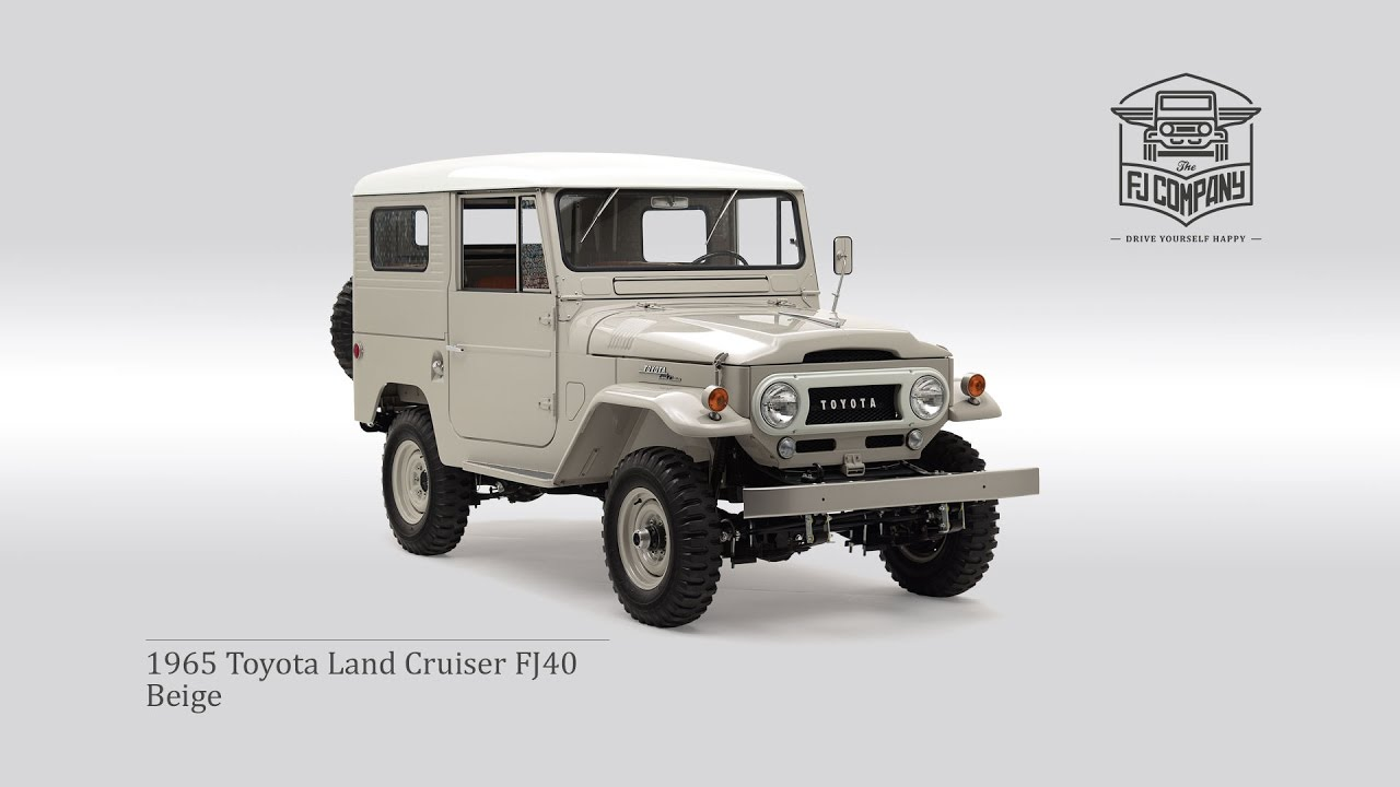1965 toyota land cruiser fj40 beige youtube rh youtube com 1971 Toyota Land Cruiser 1960 Toyota Land Cruiser