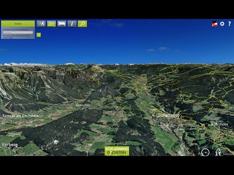 3D Reality Map Schladming-Dachstein