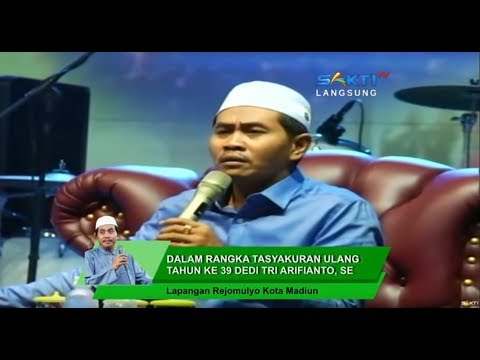 LIVE Ngaji Bareng KH Anwar Zahid Lap. Rejomulyo Kota Madiun