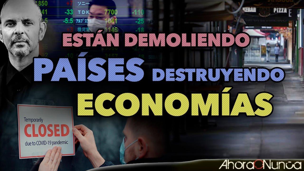 ESTÁN DEMOLIENDO PAÍSES | LA DESTRUCCIÓN COORDINADA DE ECONOMÍAS | Con Daniel Estulin
