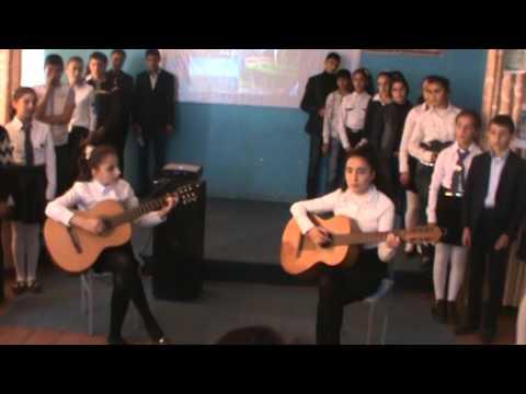 Միջոցառում` նվիրված Ս.Եսենինի ծննդյան 120-ամյակին Կարմիրգյուղի թիվ.1 միջնակարգ դպրոցում