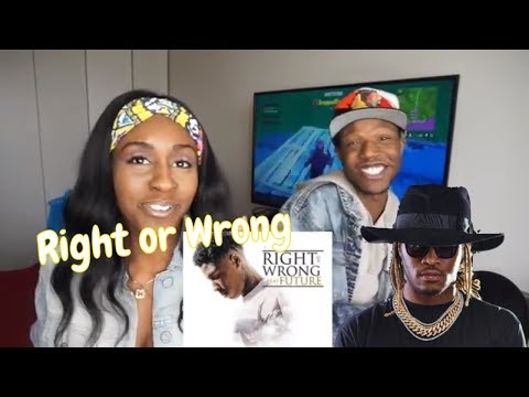 NBA YoungBoy - Right or Wrong (feat. Future)- REACTION