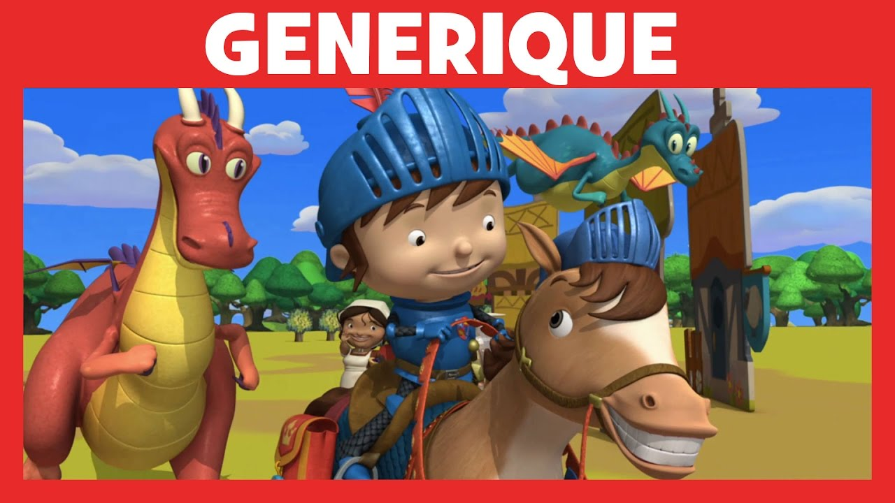 G n rique de mike le chevalier disney junior youtube - Chateau de mike le chevalier ...
