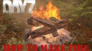 New - How To Make A Fireplace - Dayz Standalone - Patch .53 .54
