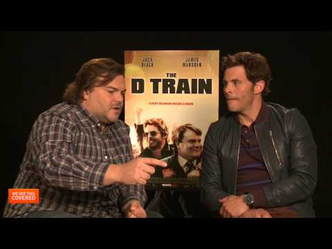 Exclusive Interview: Jack Black, Kathryn Hahn And James Marsden Talk The D Train [HD]