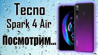 Tecno Spark 4 Air 32gb - полный обзор смартфона.