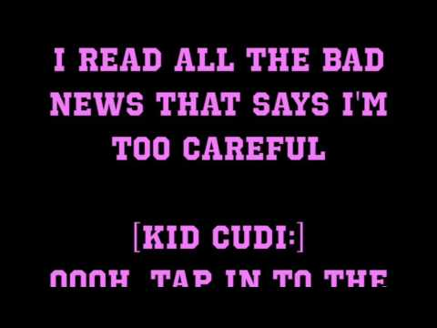 Kid Cudi - By Design ft. Andre Benjamin [Full HD Song Lyrics]