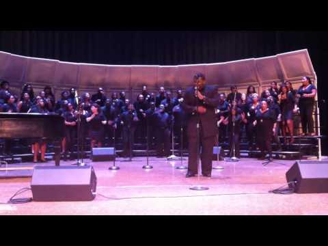 Darius Coleman  w/ Central State University Chorus