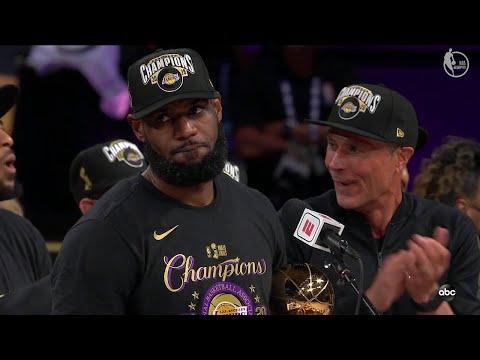 Los Angeles Lakers Trophy Presentation Ceremony - 2020 NBA Finals