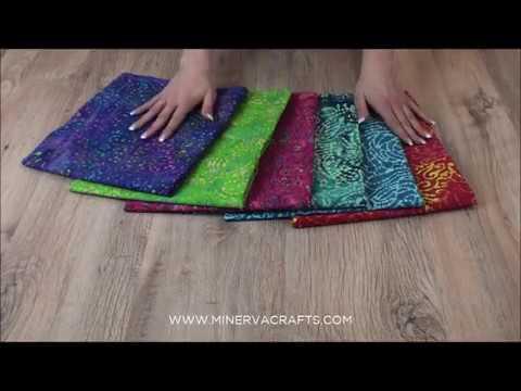 Hand Printed Abstract Batik Cotton Dress Fabric