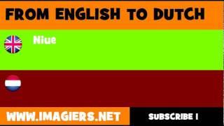 NEDERLANDS = ENGELS = Niue