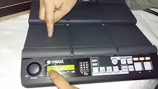 Tutorial programación batería Yamaha DTX Multi 12 - Parte 1