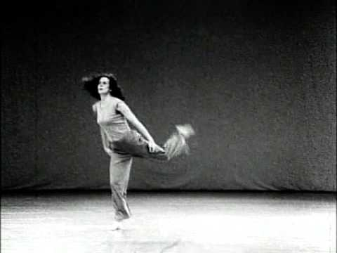 """Trisha Brown in """"Watermotor"""", by Babette Mangolte (1978)"""