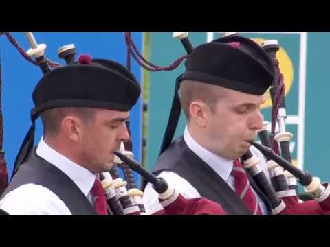 St.Laurence O'Toole Pipe Band - World's 2018 : Medley