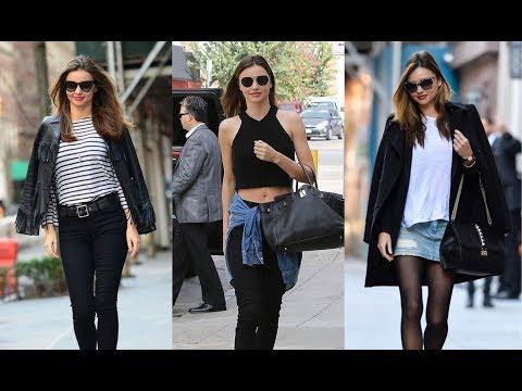 Miranda Kerr street style 2018