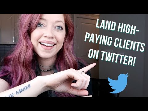 Twitter for Freelance Writers: How to Land High-paying Clien