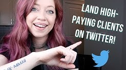 Twitter for Freelance Writers: How to Land High-paying Clients!