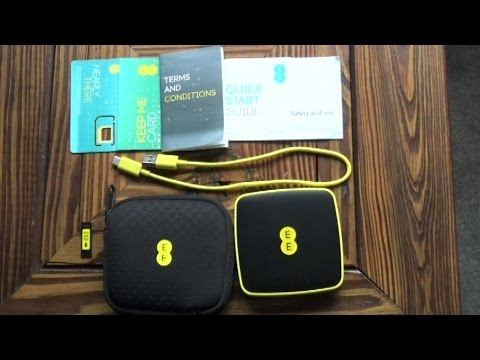 EE 4GEE Mini WiFi Router - Review