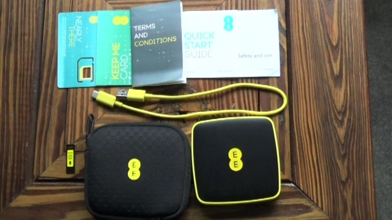 Ee 4gee Mini Wifi Router Review Youtube