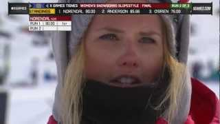 Silje Norendal wins women's Slopestyle Gold - Winter X Games