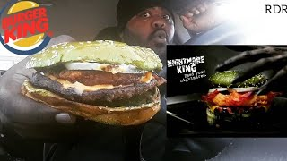 ☆Burger King NEW Nightmare King Review☆!!!