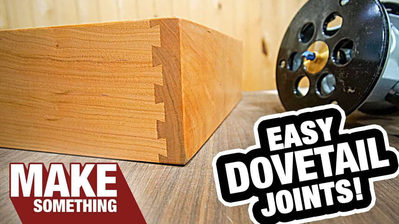 How To Use A Dovetail Jig Half Blind Dovetails Youtube