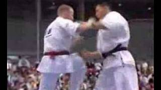This is Kyokushin fighting