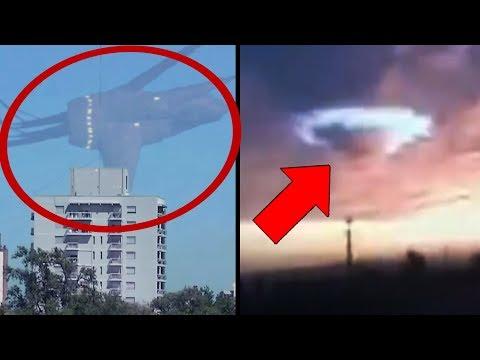 10 Most Mysterious Sky Phenomena Caught On Tape!