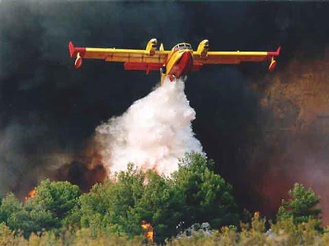 Clip of Firefighter works in Son Serra de Marina / Mallorca 17.08.16