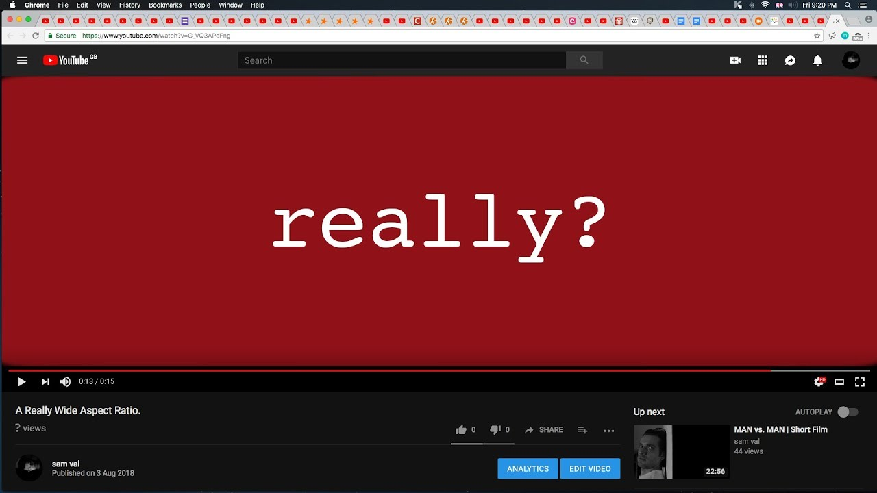 wide aspect ratio (really!)