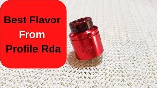 How To Get The Most Flavor Out Of The Profile RDA (4 Easy Steps)